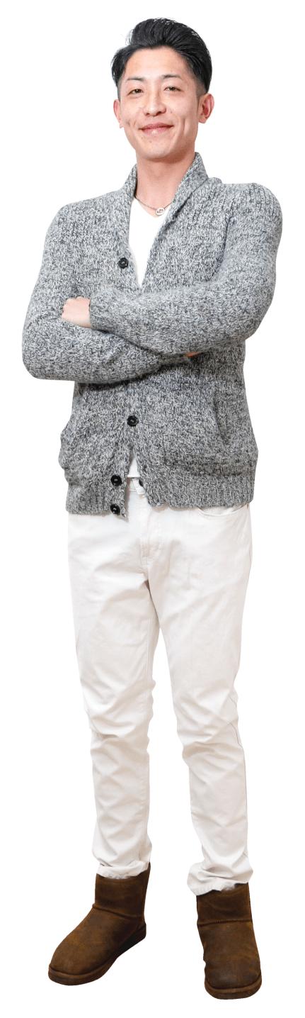 中村 尚侑さんの私服